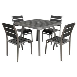 Polylumber 5-piece Brava Dining Set
