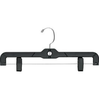 Classic Plastic Bottom Hanger with Adjustable Clips