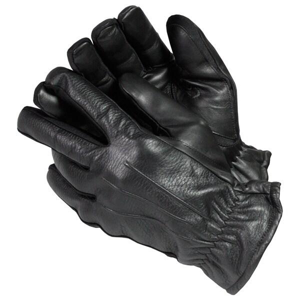 Isotoner Men's Streach Leather Gloves