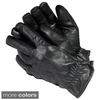 Isotoner Men's Streach Leather Gloves