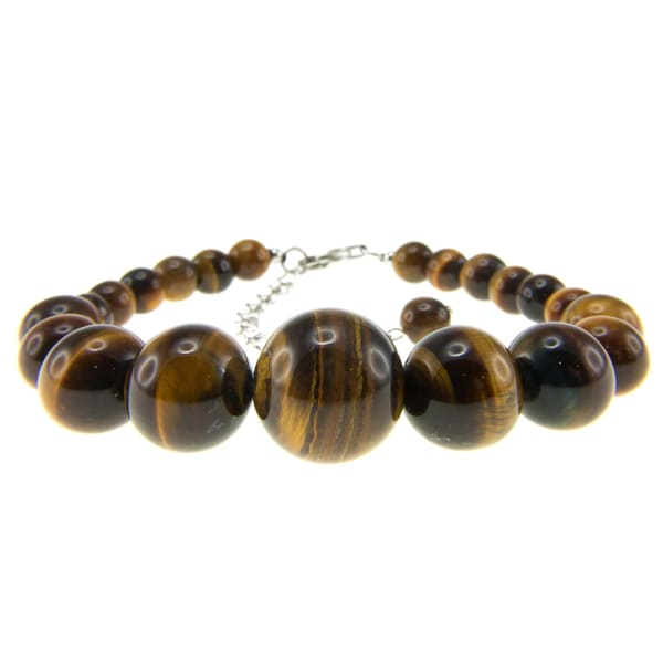 Pearlz Ocean Yellow Tigers Eye Journey Bracelet