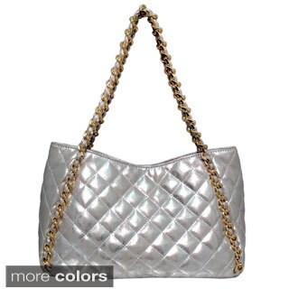 Cleopatra Charlotte Quilted Chain-strap Bag