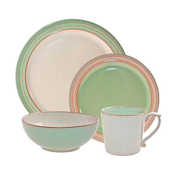 Denby Heritage Orchard Green 4-piece Place Setting