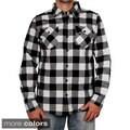 Clench Men's Buffalo Plaid Flannel Shirt