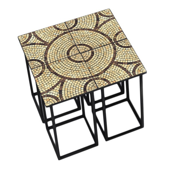 Deeco Saldanha Split Side Table