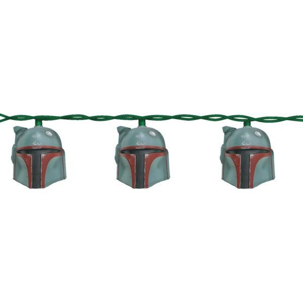 Kurt Adler 10-light Boba Fett Helmet Light Set