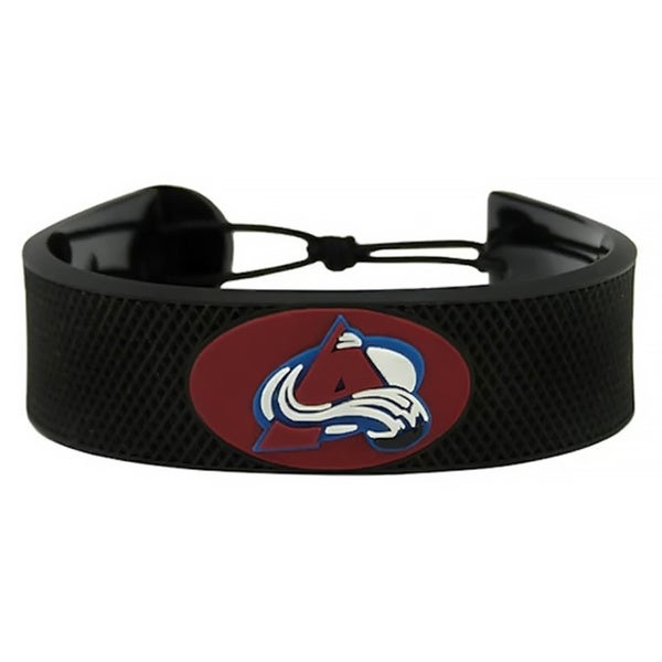 Classic NHL Hockey Sports Team Logo Gamewear Leather Bracelet
