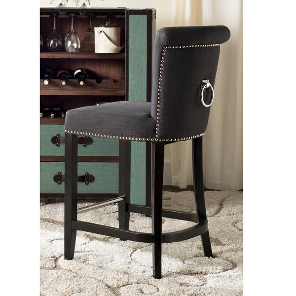 Safavieh Addo Charcoal Ring Counterstool