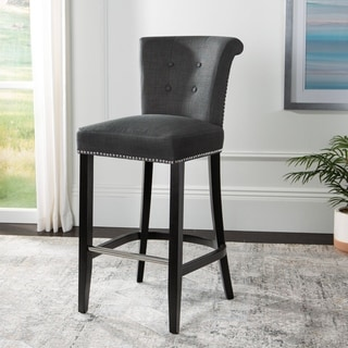 Safavieh 29.7-inch Addo Charcoal Ring Bar Stool