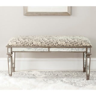 Safavieh Layla Floral Scroll Bench