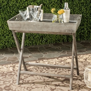 Safavieh Ainsley Natural Tray Table