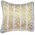 Steve Madden Lani Metallic Skin Decorative Pillow