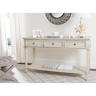 Safavieh Manelin White Washed Console