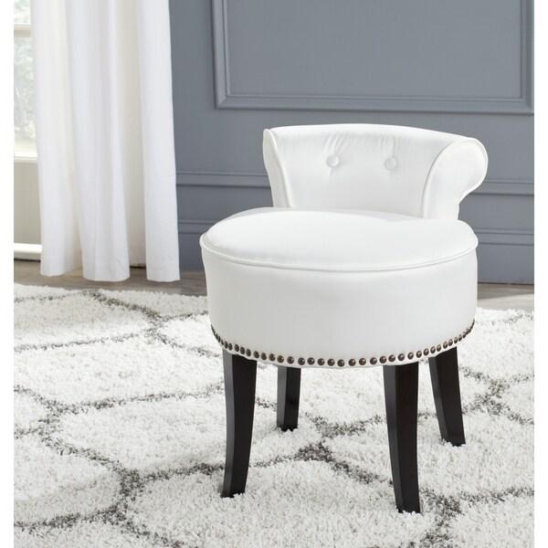 Safavieh Georgia White Vanity Stool 16722575 Shopping Gre