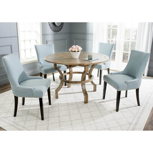 Safavieh Ludlow Oak Round Dining Table