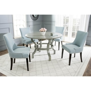 Safavieh Ludlow Ash Grey Round Dining Table