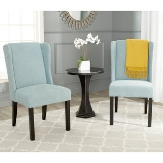 Safavieh Hayden Blue Wingback Chair (Set of 2)