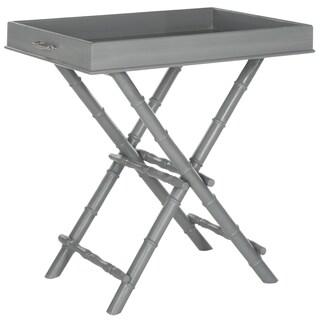 Safavieh Hobson Grey Tray Table