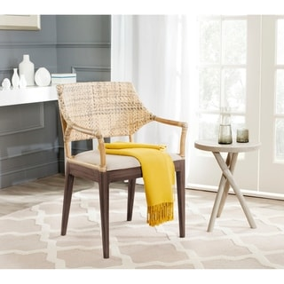 Safavieh Rural Woven Dining Carlo Honey Arm Chair