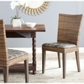 Safavieh Fabrizio Multi Brown Side Chair (Set of 2)