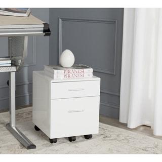 Safavieh Piedmont White File Cabinet