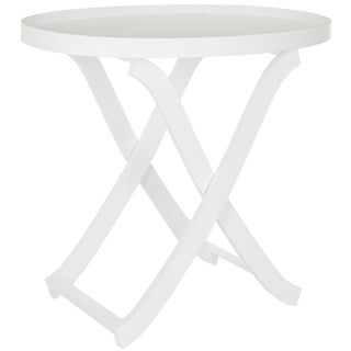 Safavieh Alfred White Tray Table