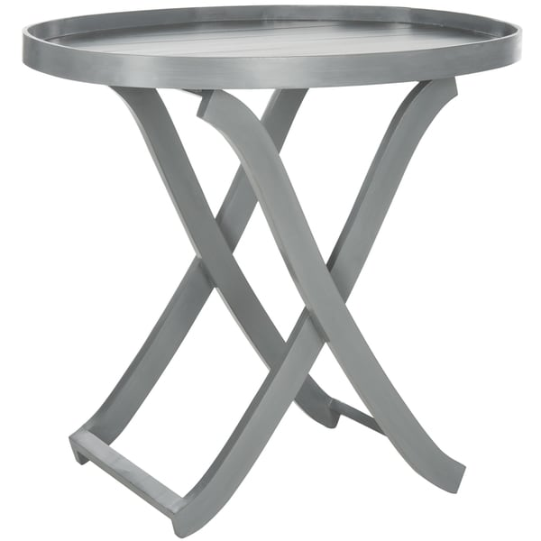 Safavieh Alfred Grey Tray Table