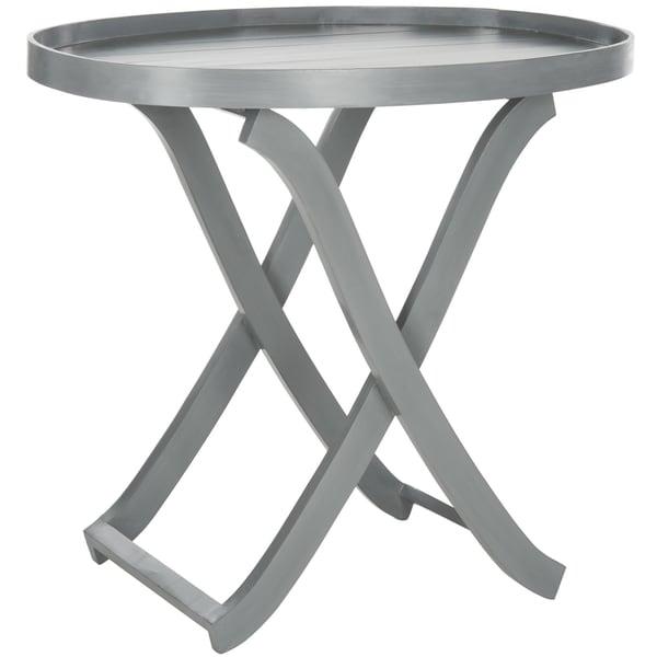 Safavieh Alfred Grey Tray Table