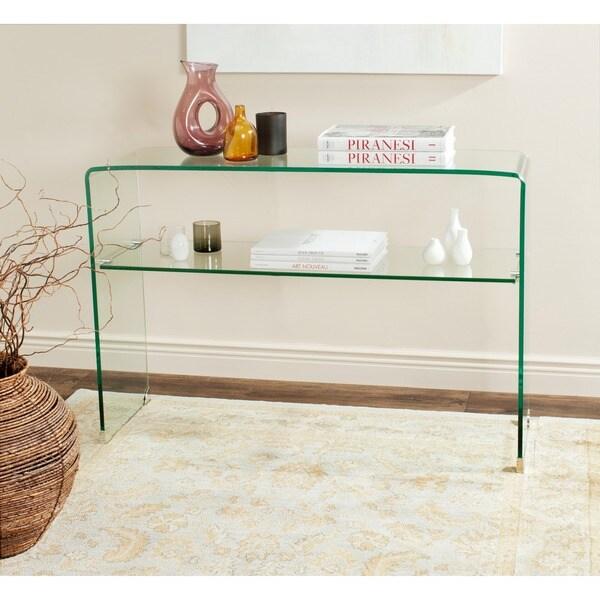 Safavieh Hollis Clear Console Table