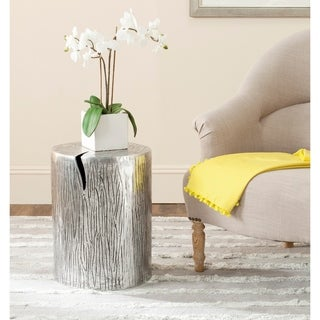 Safavieh Forrest Silver Metal Table Stool