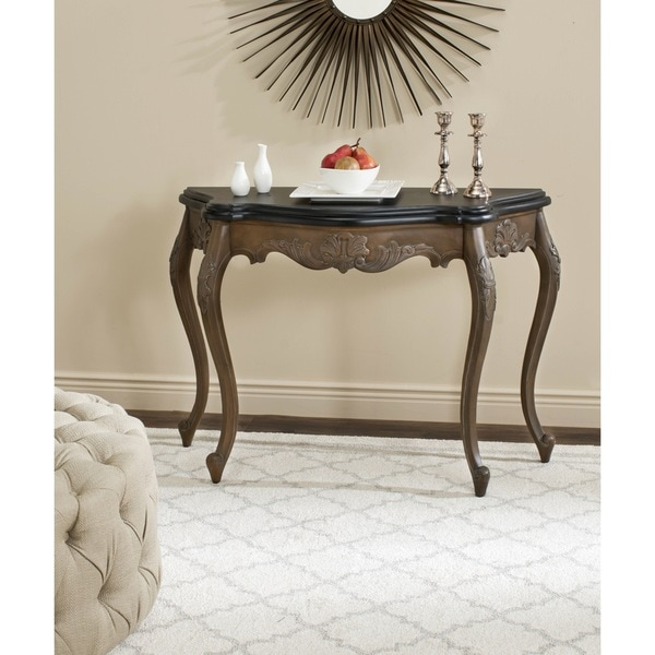 Safavieh Warminster Brown Hall Table