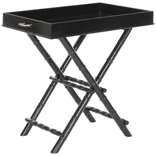 Safavieh Hobson Black Tray Table