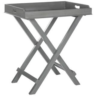 Safavieh Coleman Grey Tray Table