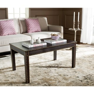 Safavieh Crispis Dark Brown Coffee Table