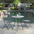 Stony Brook 3-piece Outdoor Stone Bistro Set