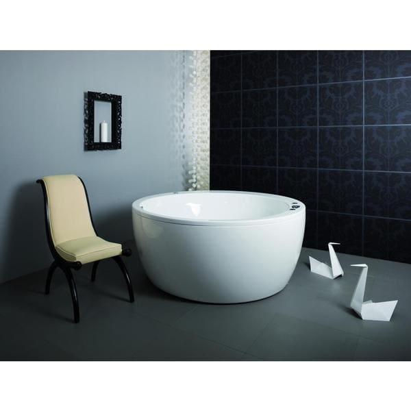 Aquatica Pamela White Freestanding Lucite Acrylic Bathtub