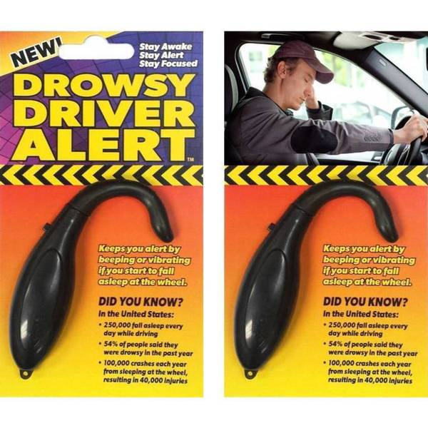 Drowsy Driver Alert (Pack of 2)