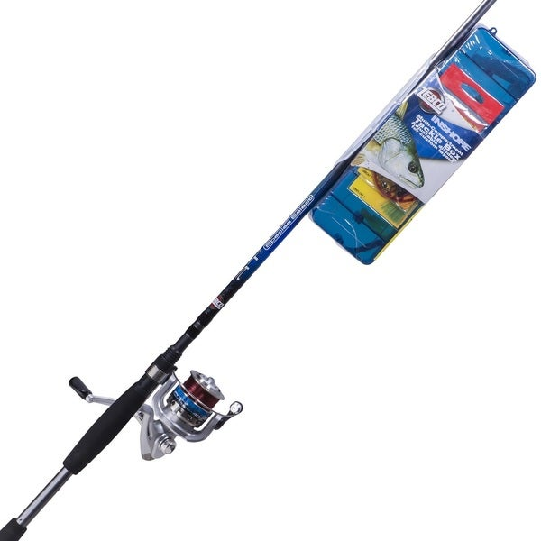 Zebco Ready Tackle Inshore Spin Combo, Medium 7' 14181236