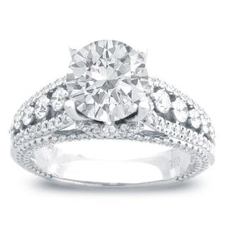 14k White Gold 1 4/5ct TDW Diamond Engagement Ring (G-H, SI1-SI2)