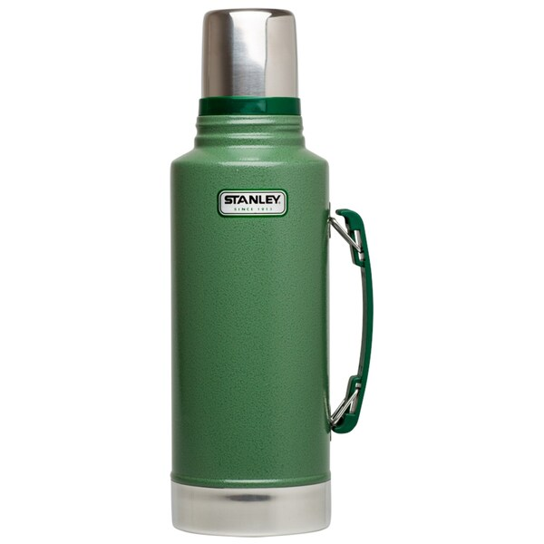 Stanley Classic 2 Quart Vacuum Bottle, Hammertone Green