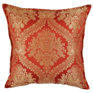 Sherry Kline Lucerne Red Luxury 24-inch Throw Pillow