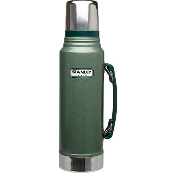 Stanley Adventure 1.1 Quart Vacuum Bottle, Hammertone Green
