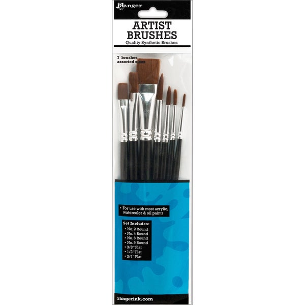 Ranger Artist Brush Set 7pcs