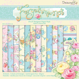 ForgetMeNot Paper Pack 8inX8in