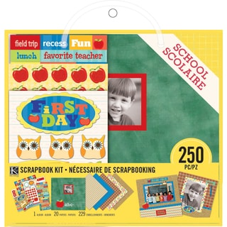 "Scrapbook Kit 8""X8""-School"