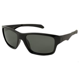 Alta Vision Men's Compo Polarized/ Rectangular Sunglasses