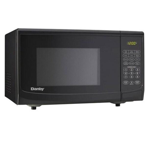 Danby 1.1 cubic foot Black Countertop Microwave Oven