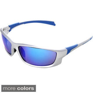 Hot Optix Men's Sport Sunglasses with Flash Mirror Lens
