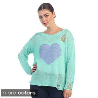 Hadari Women's Casual Knitted Sweater