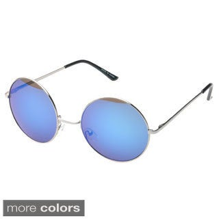 Epic Men's 'Addison' Round Fashion Sunglasses